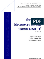 Ung Dung MS Excel Trong Kinh Te