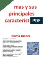 Biomas y sus principales características para sexto
