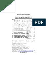 2013 2nd Quarter (April - June) Adult SS Lesson (Puitling) Mizo