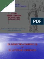 Derecho Comercial GENERALIDADES
