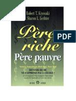 Pere Riche Pere Pauvre Devenir Riche Ne s Apprend Pas a l Ecole