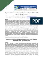 2012_VALADÃO_NASCIMENTO_ARAÚJO_Aspectos teóricos da estrutura organizacional da Empresa TelemarOi