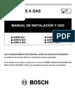 Manual Calefones Bosch Confort 10-5-17!4!22 7kw de Tiro Natural