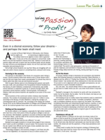 Passion or Profit (Student Article)
