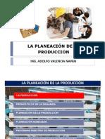 Planeacion de La Produccion
