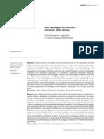 abordagem hermeneutica saúde doença