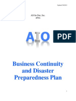 AIO Business Continuity Plan