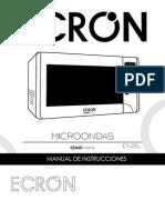 Manual Microondas Ex25lnew