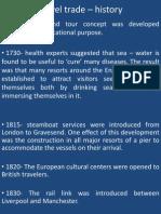 Travel trade – history