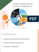 Dezvoltarea Proiectelor Fotovoltaice - Armand 2013