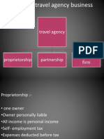 Forms of Travel Agency Business