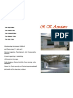 Logistics Warehousing Scope