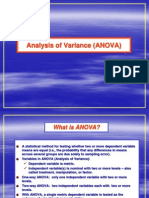 Chapter 6 -- Analysis of Variance (ANOVA)