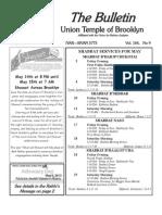 UT Bulletin May 2013