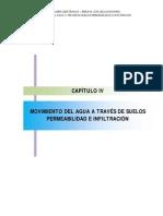 Cap04 – Movimiento del agua a través de suelos permeabilidad e infiltración