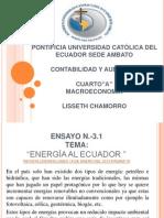 3.1-Energía al Ecuador-5.Chamorro-M.A-2013