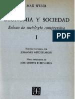 Weber - Economía y sociedad, Conceptos sociológicos fundamentales (5-45).pdf