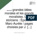 Pensées, Marc Aurèle