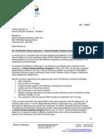 Hongkou Inspection Summary Letter April 15 2013 (2)