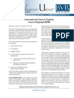 Cost of Capital BVU2011_12_Czaplinski