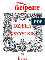 SHAKESPEARE_36 - Burza - nowy przekład (Słomczyński)