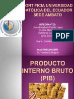 2.1 Producto Interno Bruto 9.Gamazo 11.Lozada 13.Mendieta 15.Padilla M.a 2013 (2)