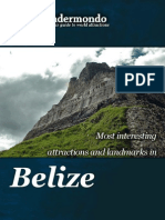 Landmarks and attractions in Belize