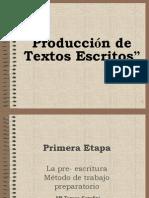 Producción de textos