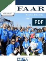 2013/ 2014 FAAR Directory