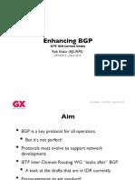Enhancing BGP