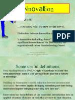 Managing and Facilitating Innovation