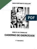 Direito Do Trabalho - Caderno Exercicios