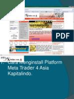 Cara Trading MT4