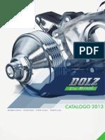 Catálogo bomba d'água Dolz do Brasil 2013
