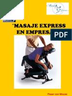 Masaje Ejecutivo Express en Empresas