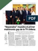 Separados Muestra El Primer Matrimonio Gay de Chile