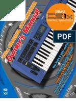 Yamaha CS-1X Owners Manual