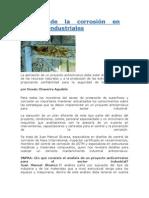 Control de la corrosión en sectores industriales