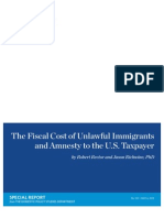 Illegal Immigration-Amnesty Costs to US Taxpayer