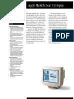 Apple MultiScan 15 Display