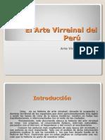 El Arte Virreinal del Perú1
