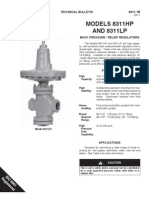 Cashco Back Pressure Relief Regulator