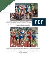 Ciclismo y Atletismo