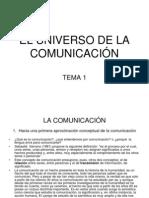 tema 1 el universo de la comunicación