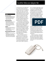 GeoPort Telecom Adapter Kit