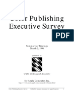 Color Publishing Executive Survey
