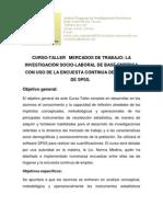 Curso Mercado Laboral 2013