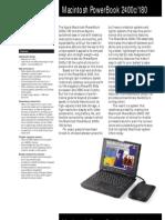 Macintosh PowerBook 2400c/180