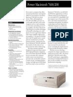 Power Macintosh 7600/200 (Japan)