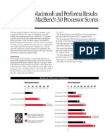 PM Benchmark Fact Sheet